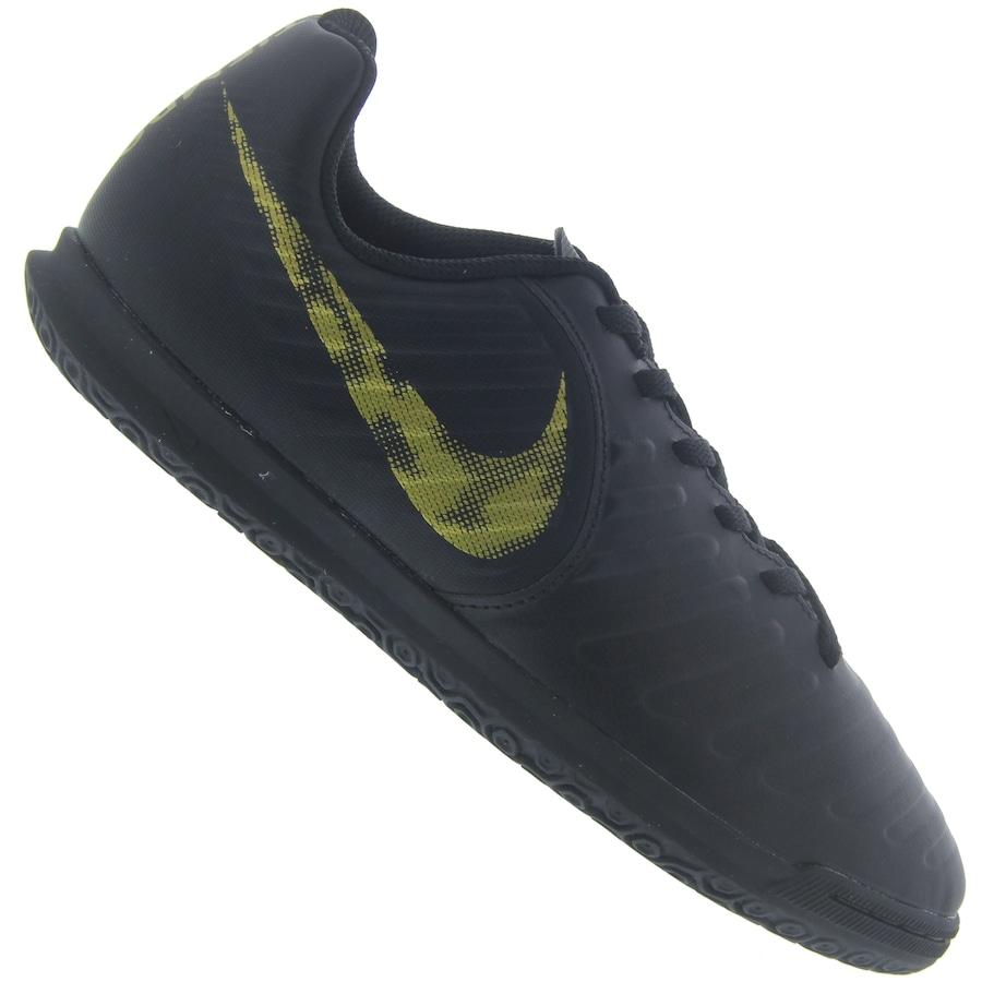 Chuteira Futsal Nike Tiempo Legend X 7 Club IC - Infantil 258f9ac54749b