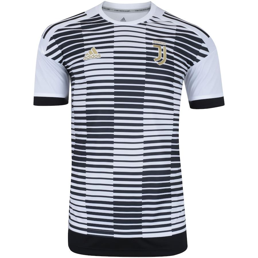 5d85586de8f19 Camisa Pré-Jogo Juventus 17/18 adidas - Masculina