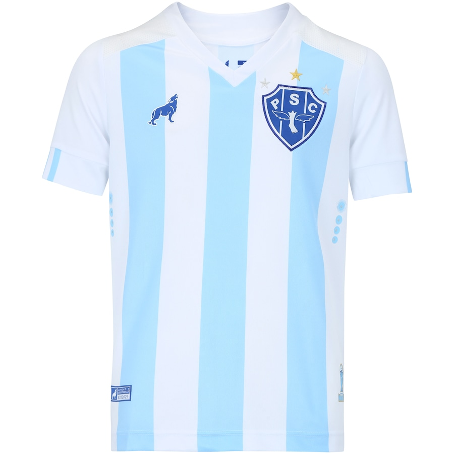 Camisa do Paysandu I 2018 nº 7 Lobo - Infantil