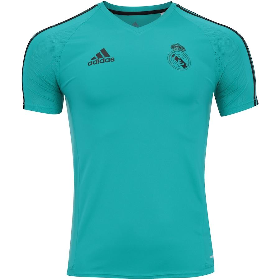 7197c0a9e2e70 Camisa de Treino Real Madrid 17 18 adidas - Masculina