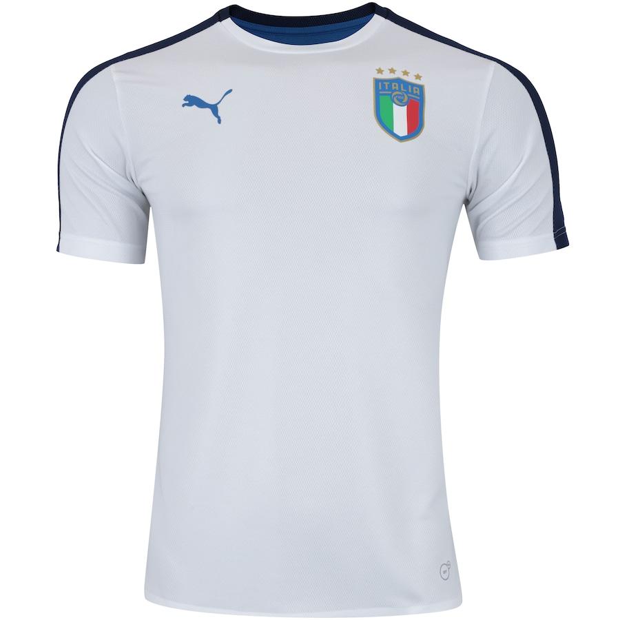 2a7566d9e6 Camisa de Treino Itália 2018 Puma - Masculina