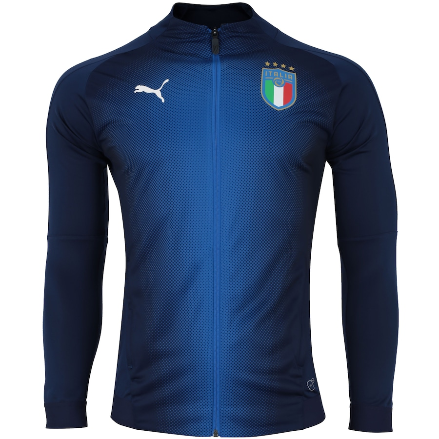 Jaqueta Itália 2018 Puma - Masculina 7977b614cd9d1