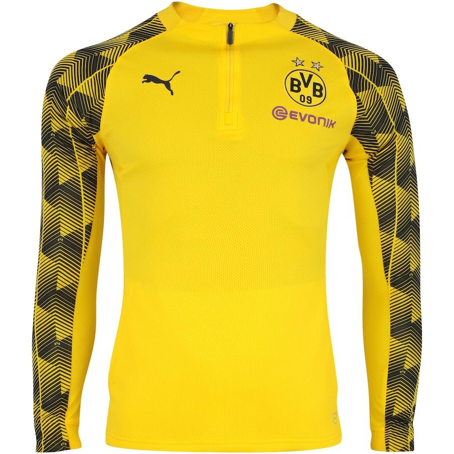 3a139b1f9b8d44 Blusão de Treino Borussia Dortmund 17/18 Puma - Masculino