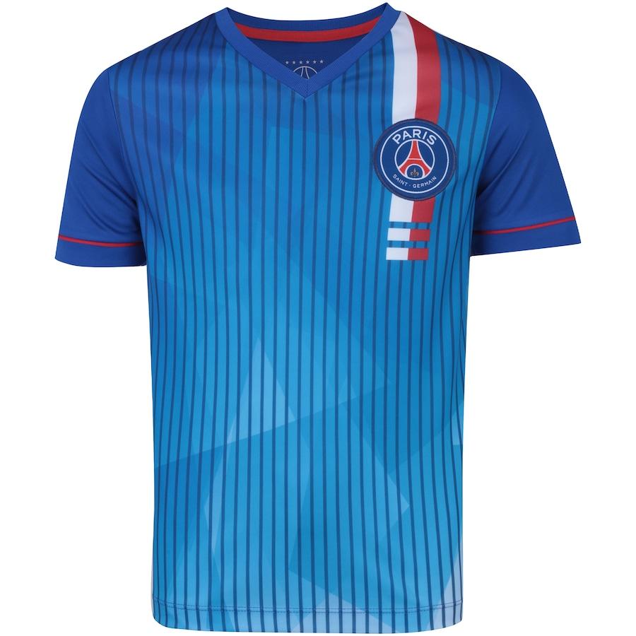bd1a725cb Camiseta PSG 2018 Abstrato Bomache - Infantil