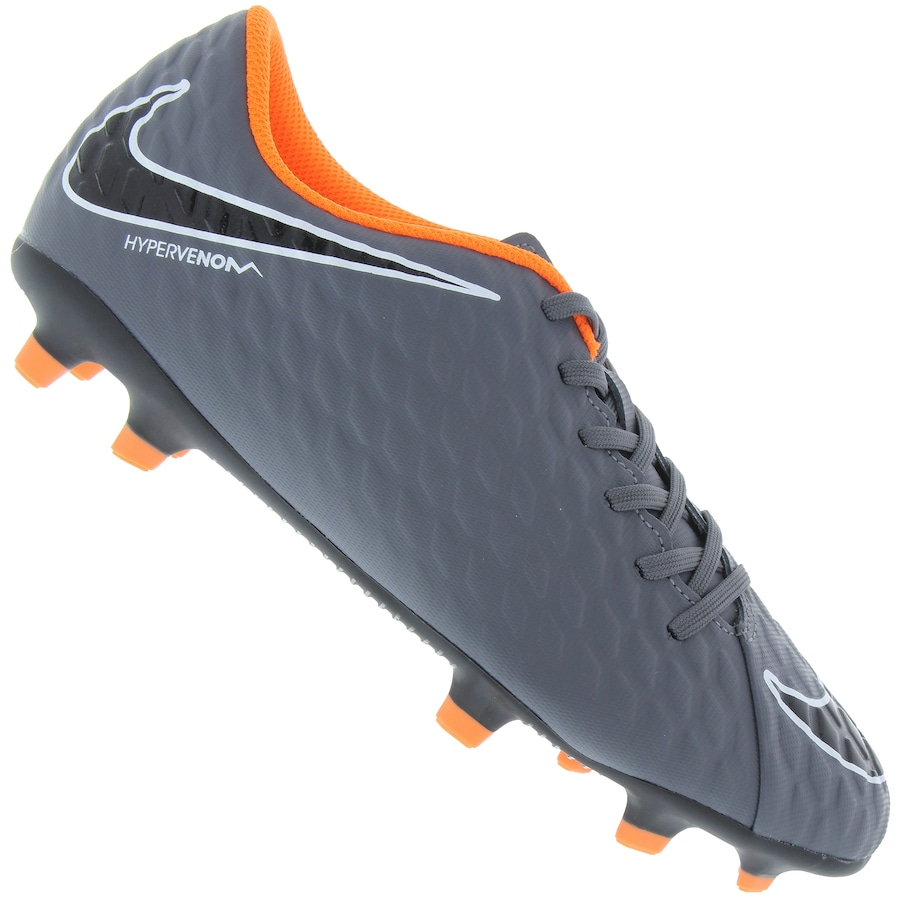 online store 35d29 b5625 Chuteira de Campo Nike Hypervenom Phantom 3 Club FG Adulto