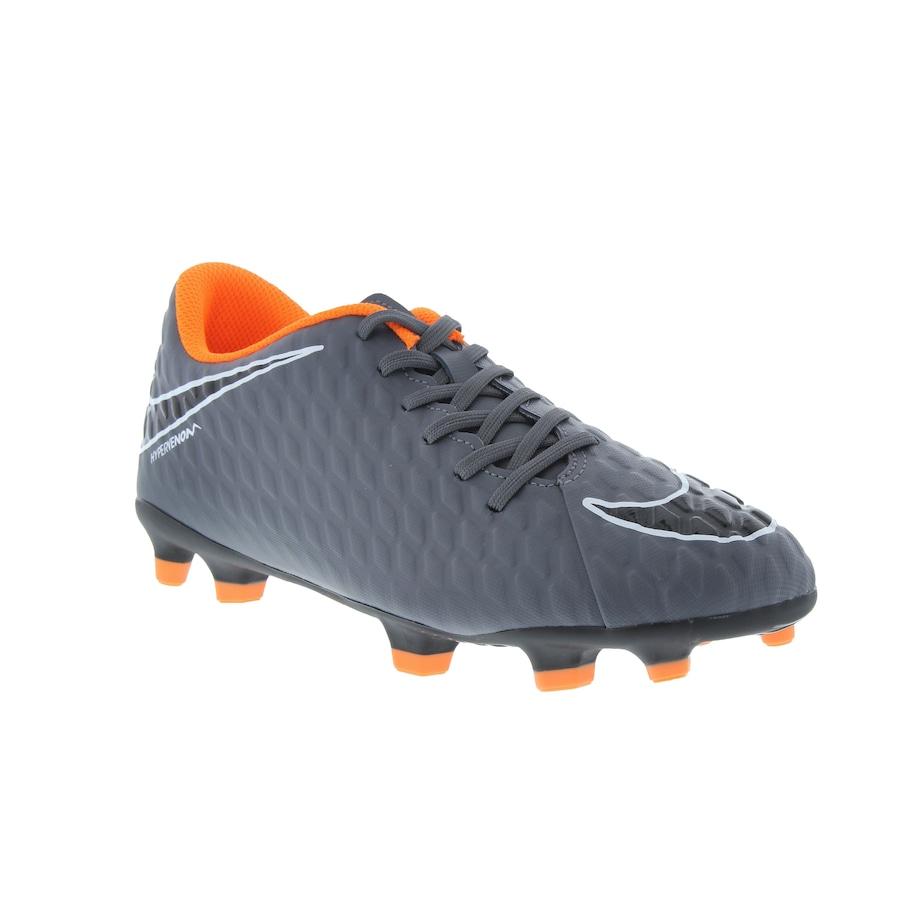 513bd007af6c5 ... Chuteira de Campo Nike Hypervenom Phantom 3 Club FG - Adulto ...