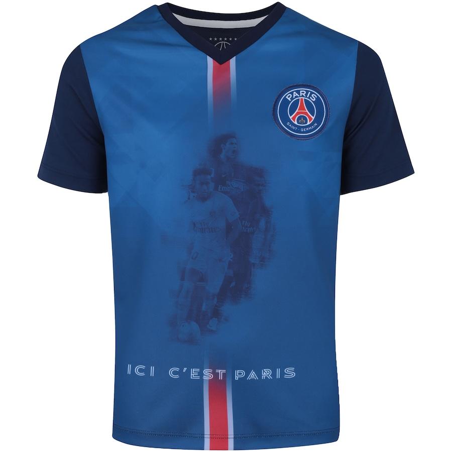 Camiseta PSG 2018 Jogadores Bomache - Infantil c4505e60b4121