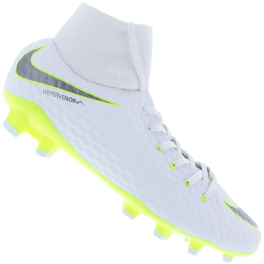 7d336b9e39 Chuteira de Campo Nike Hypervenom Phantom 3 Academy DF FG -