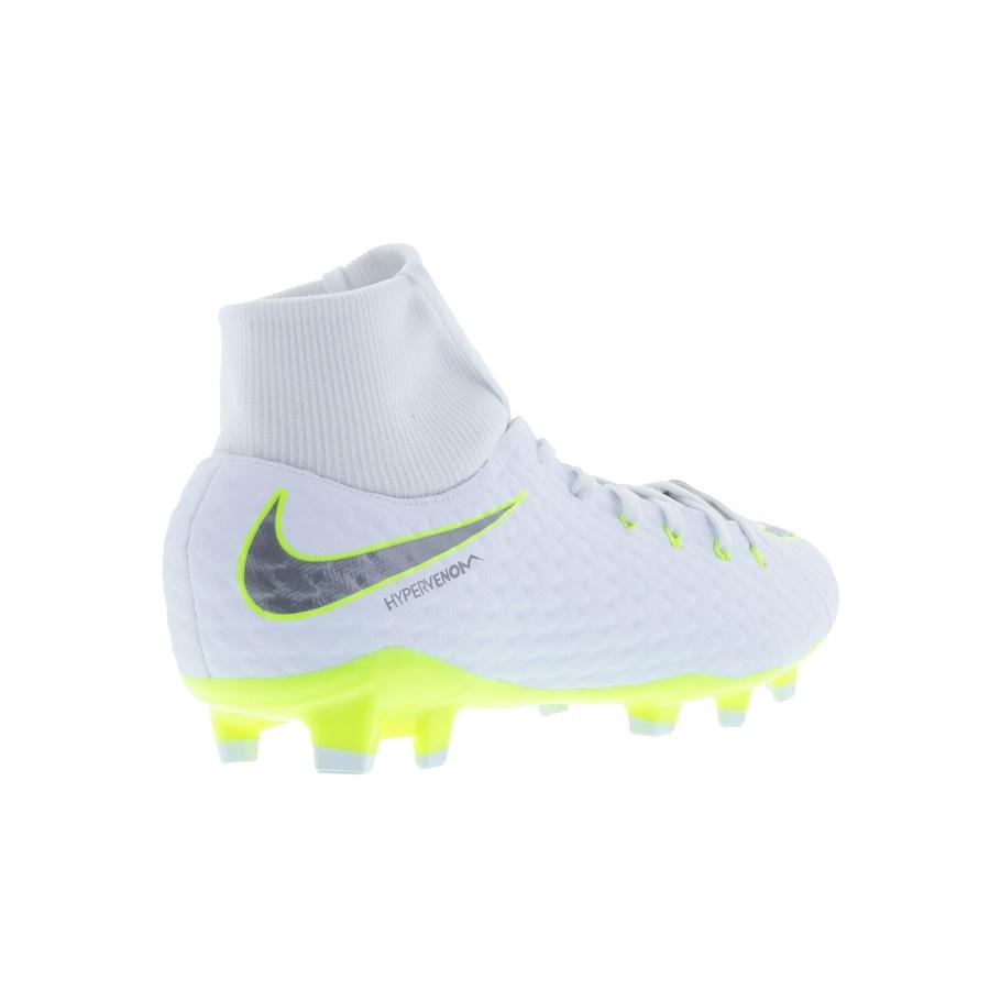 ... Chuteira de Campo Nike Hypervenom Phantom 3 Academy DF FG - Adulto ... f4e2d01140327