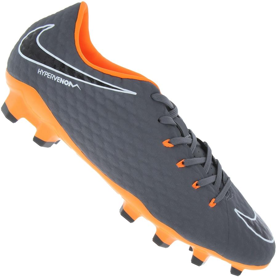 ff1fc158c1f2a Chuteira de Campo Nike Hypervenom Phantom 3 Academy FG - Ad