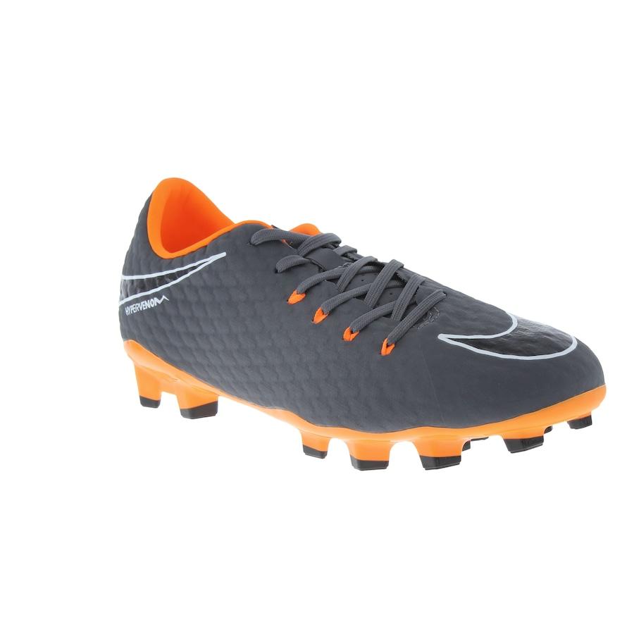 ... Chuteira de Campo Nike Hypervenom Phantom 3 Academy FG - Adulto ... 8f7e143f20e30