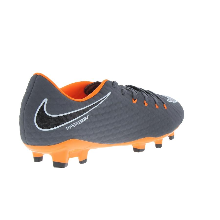 4267cded24 ... Chuteira de Campo Nike Hypervenom Phantom 3 Academy FG - Adulto ...