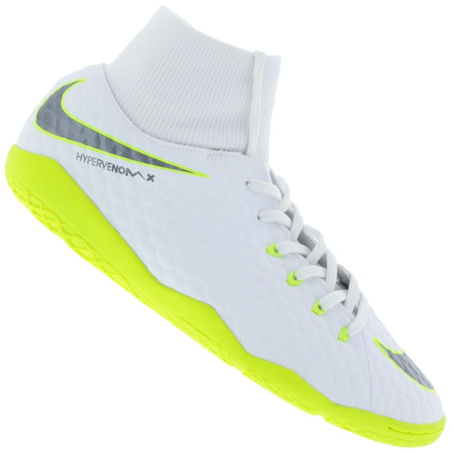 72c1a9bd81 Chuteira Futsal Nike Hypervenom Phantom X 3 Academy DF IC