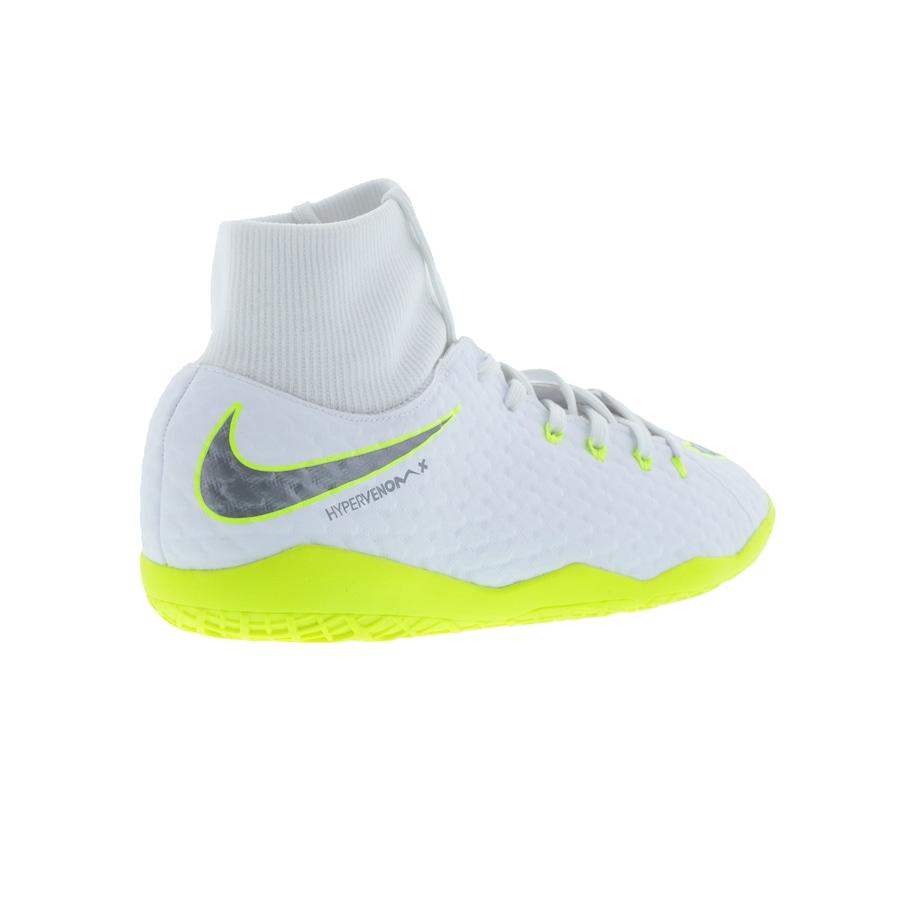 ec397e118e ... Chuteira Futsal Nike Hypervenom Phantom X 3 Academy DF IC - Adulto ...