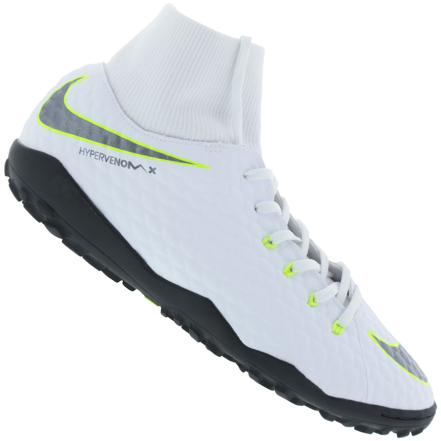 9fcb31aab290b Chuteira Society Nike Hypervenom Phantom X 3 Academy DF TF