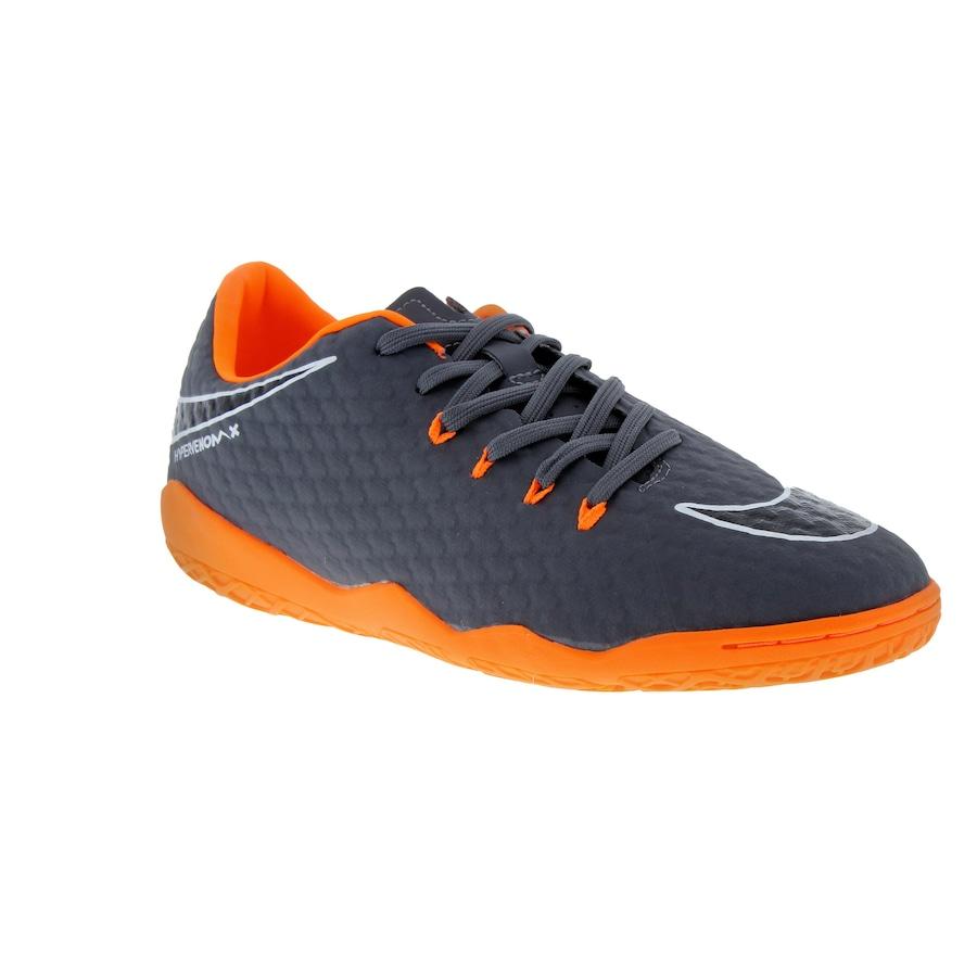 7d5d3dded9 ... Chuteira Futsal Nike Hypervenom Phantom X 3 Academy IC - Adulto ...