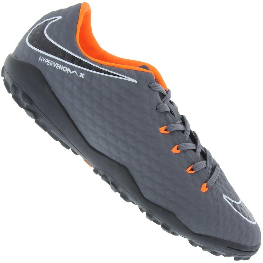1d494003af Chuteira Society Nike Hypervenom Phantom X 3 Academy TF - A