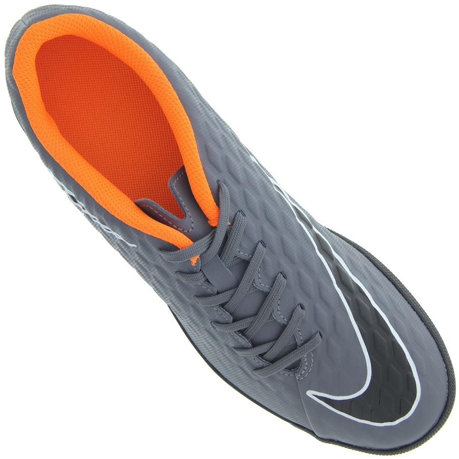 38ab079858 ... Chuteira Society Nike Hypervenom Phantom X 3 Club TF - Adulto ...