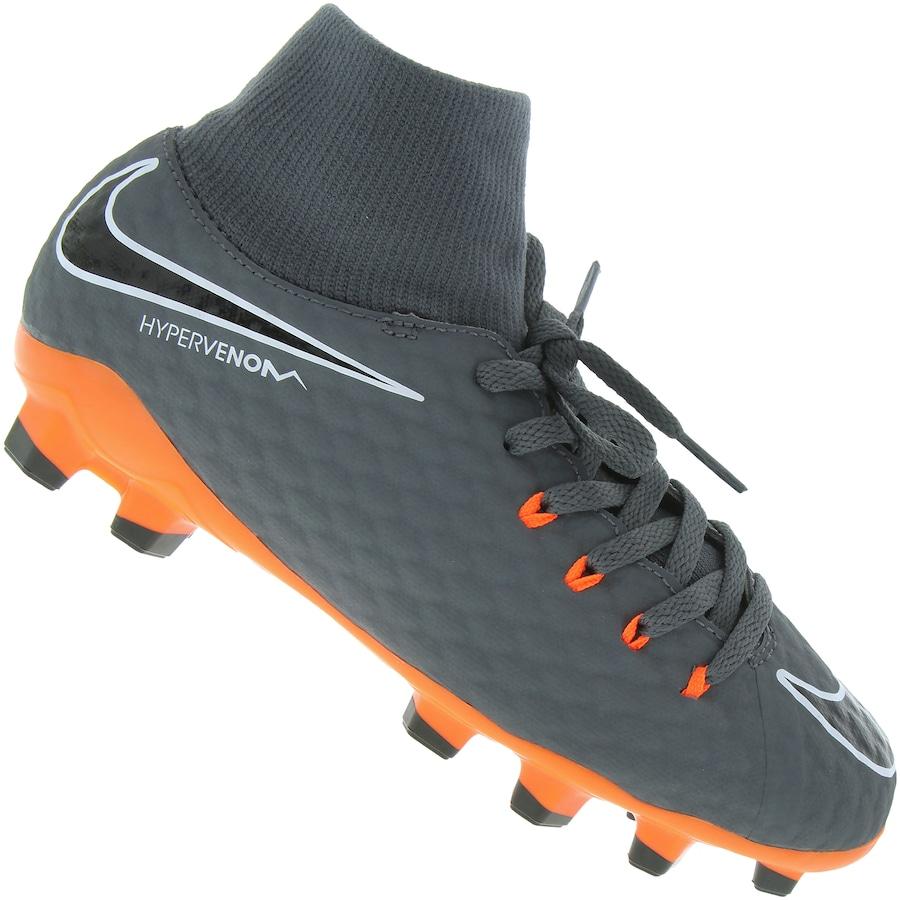Chuteira de Campo Nike Hypervenom Phantom 3 Academy DF FG cb9edc0bfeb9e