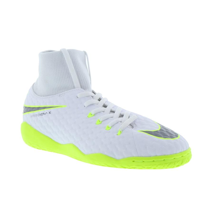 Chuteira Futsal Nike Hypervenom Phantom X 3 Academy DF IC - Infantil bbbfd25add437