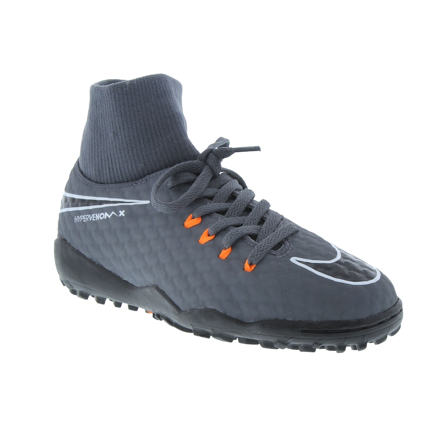 factory authentic ae3ef 48ab3 Chuteira Society Nike Hypervenom Phantom X 3 Academy DF TF - Infantil