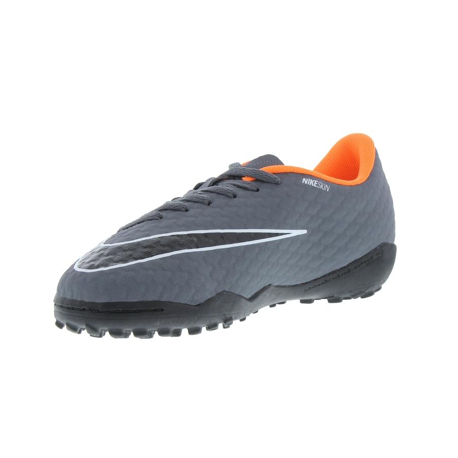 9e4e2420fdabb ... Chuteira Society Nike Hypervenom Phantom X 3 Academy TF - Infantil ...