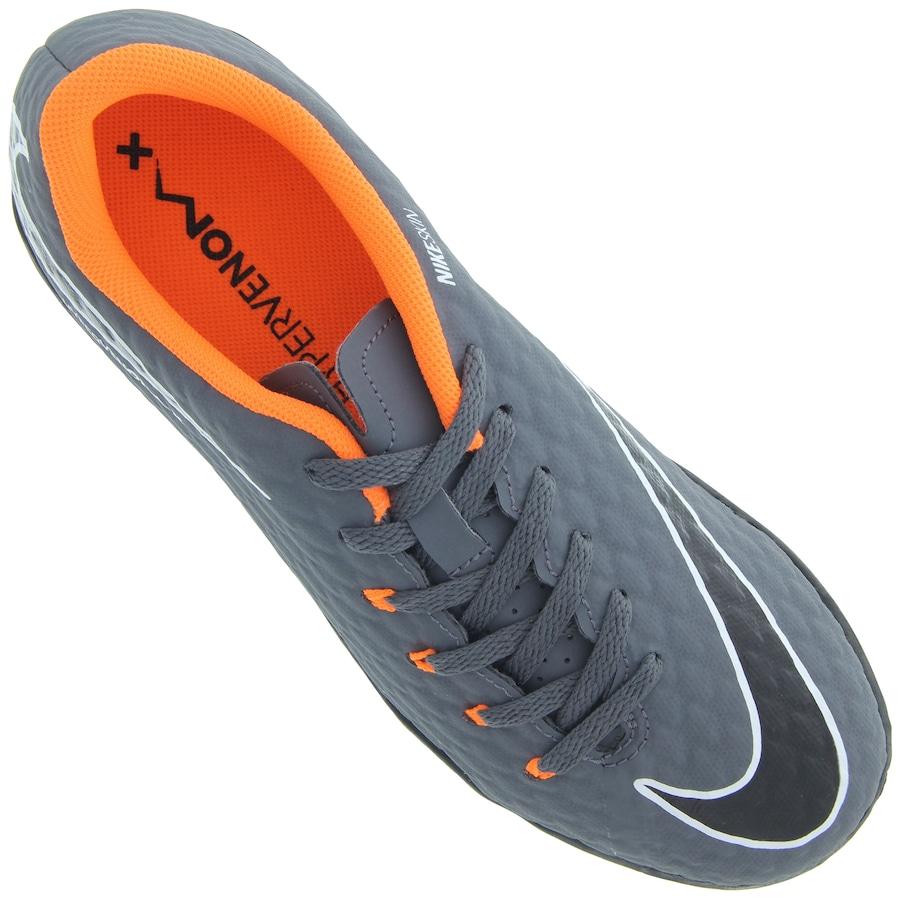 7ac2fe3c4a5b5 ... Chuteira Society Nike Hypervenom Phantom X 3 Academy TF - Infantil ...