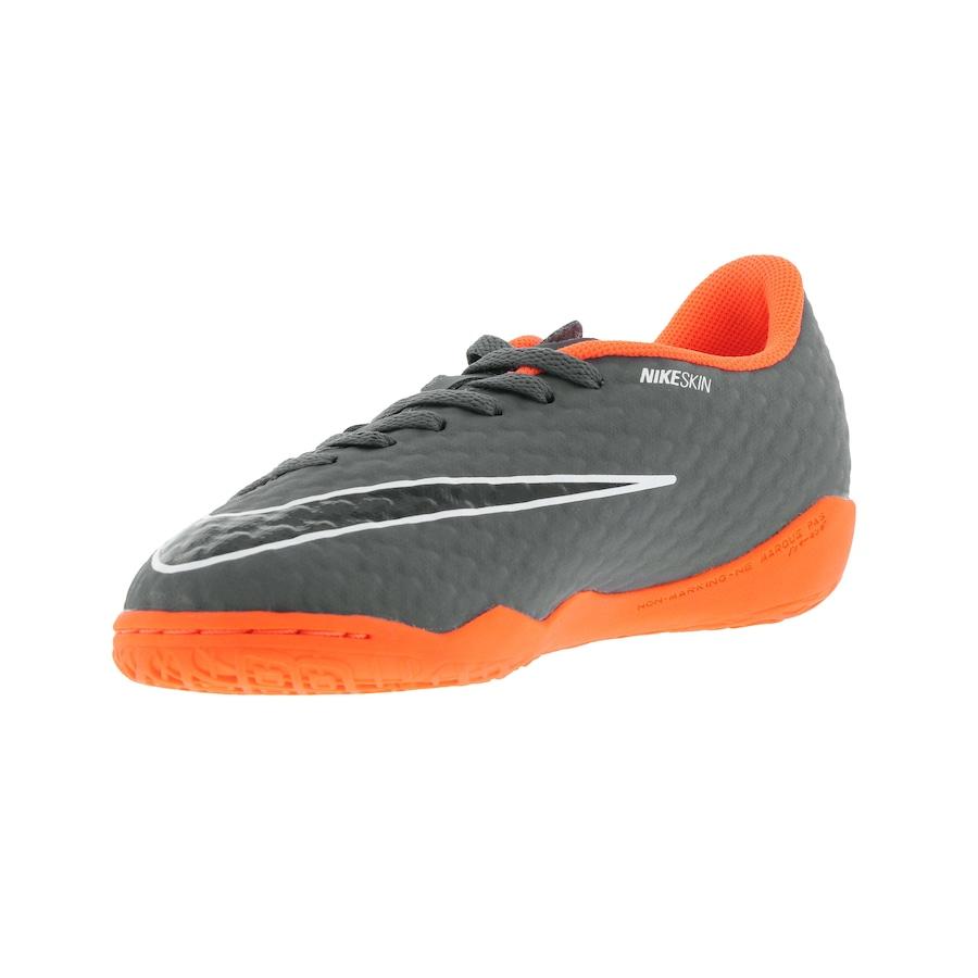 Chuteira Futsal Nike Hypervenom Phantom X 3 Academy IC - Infantil 6c383cd029d5b