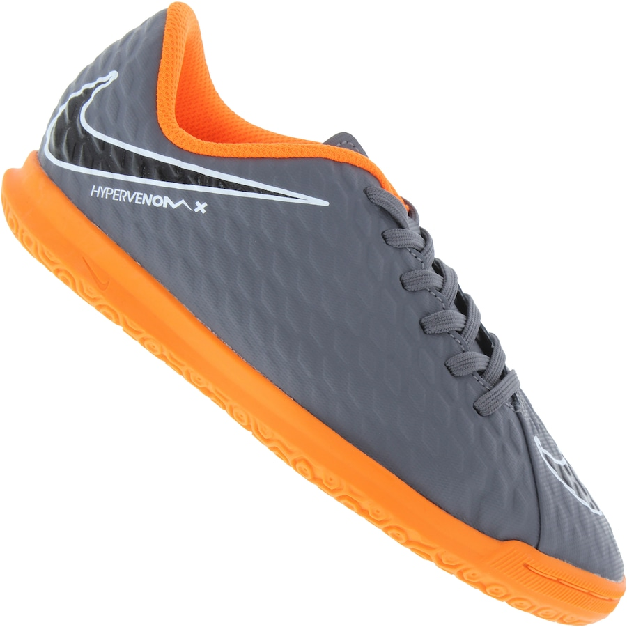 new style 41b8e 931c3 Chuteira de Futsal Nike Hypervenom Phantom X 3 Club IC - In