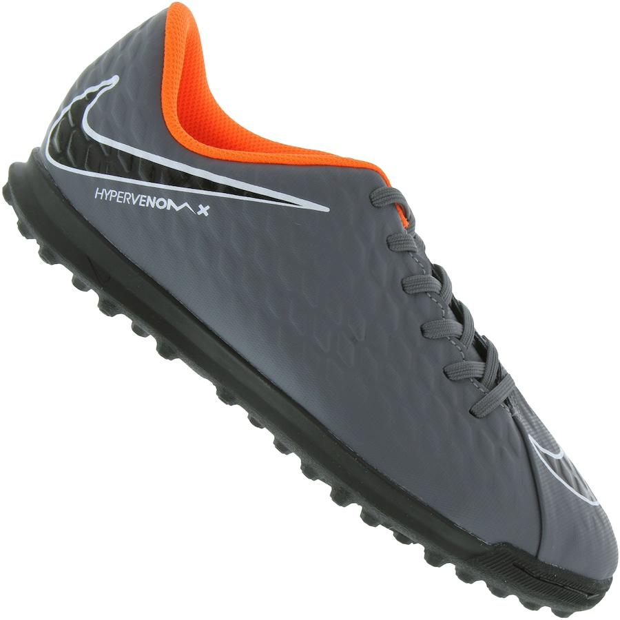 Chuteira Society Nike Hypervenom X Phantom III Club TF - In 25eb54423c572