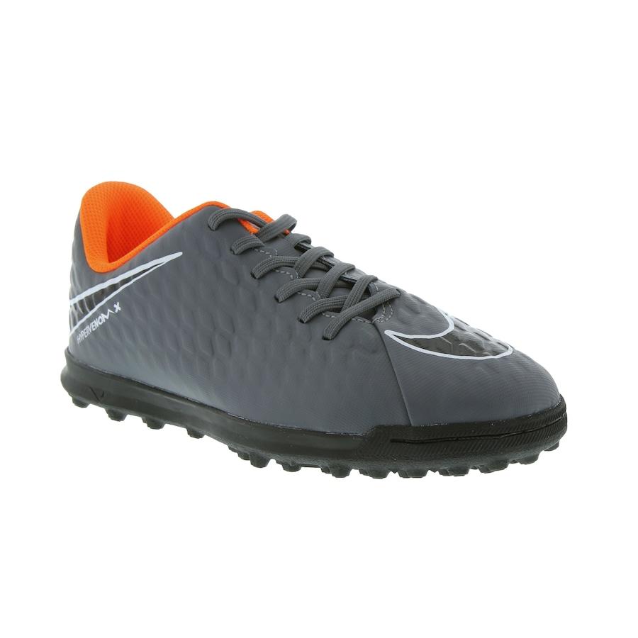 109fa5d884 ... Chuteira Society Nike Hypervenom X Phantom III Club TF - Infantil ...