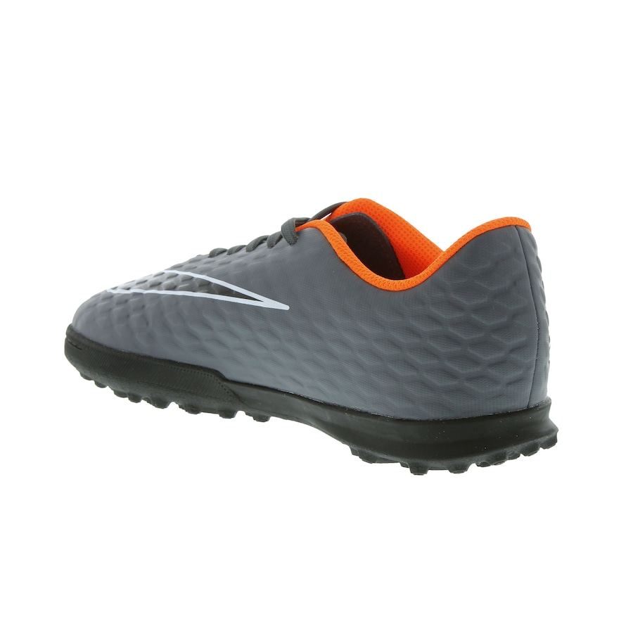 ... Chuteira Society Nike Hypervenom X Phantom III Club TF - Infantil ... 3742dbdebc317
