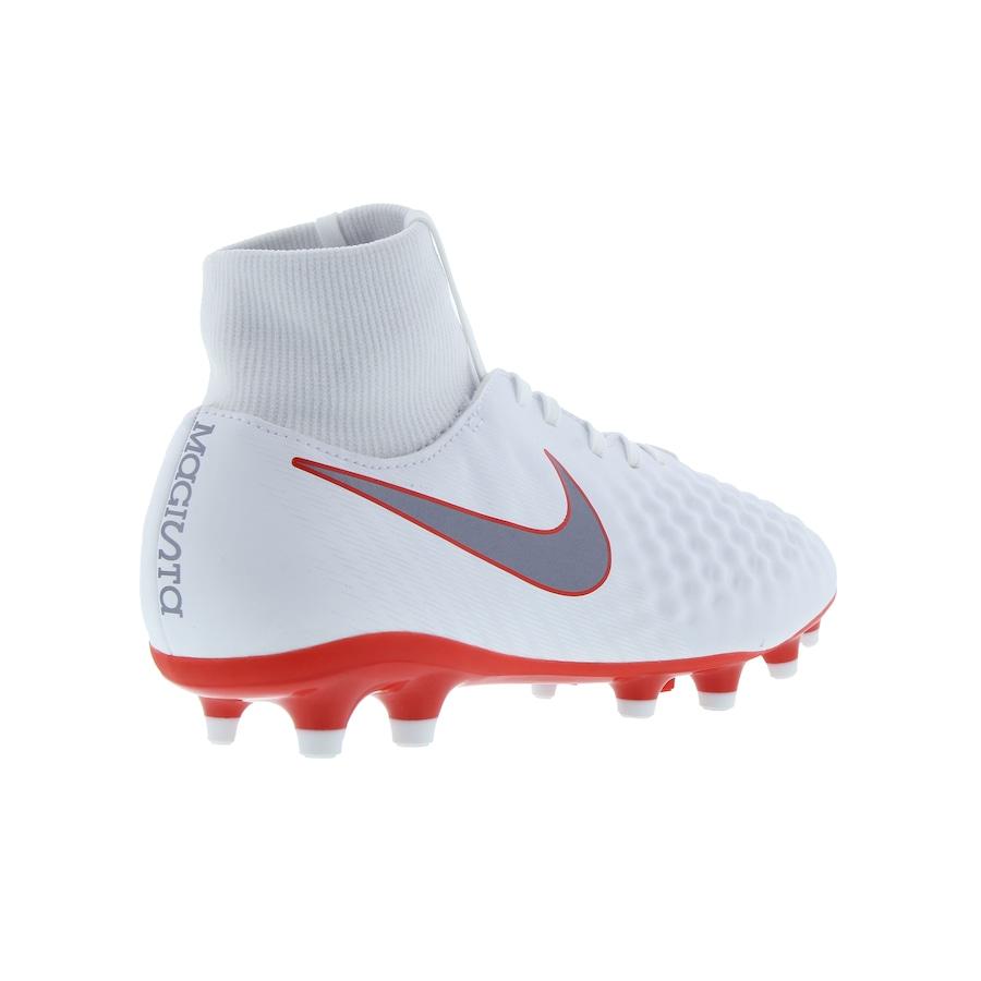 ... Chuteira de Campo Nike Magista Obra 2 Academy DF FG - Adulto ... 46d5928a0d30f
