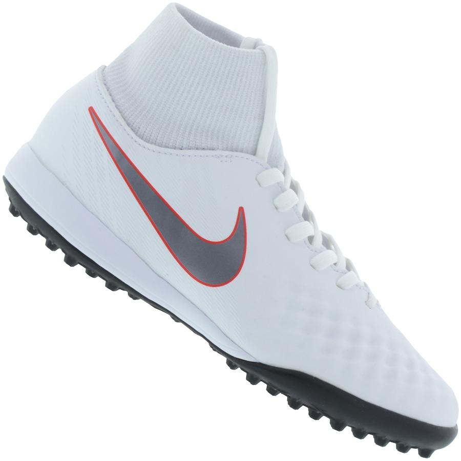 Chuteira Society Nike Magista Obra X 2 Academy DF TF - Infa 1cdaa0065adc4