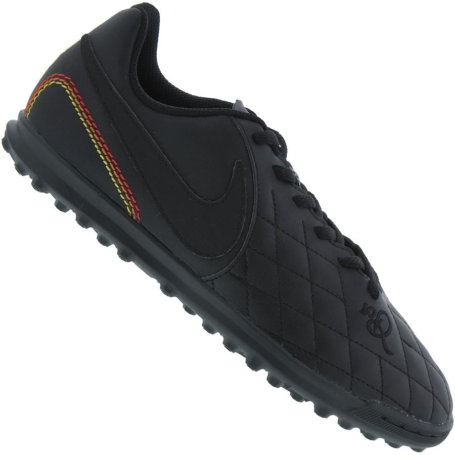 Chuteira Society Nike Tiempo X Rio IV 10R TF - Infantil 306f4746ae9bd