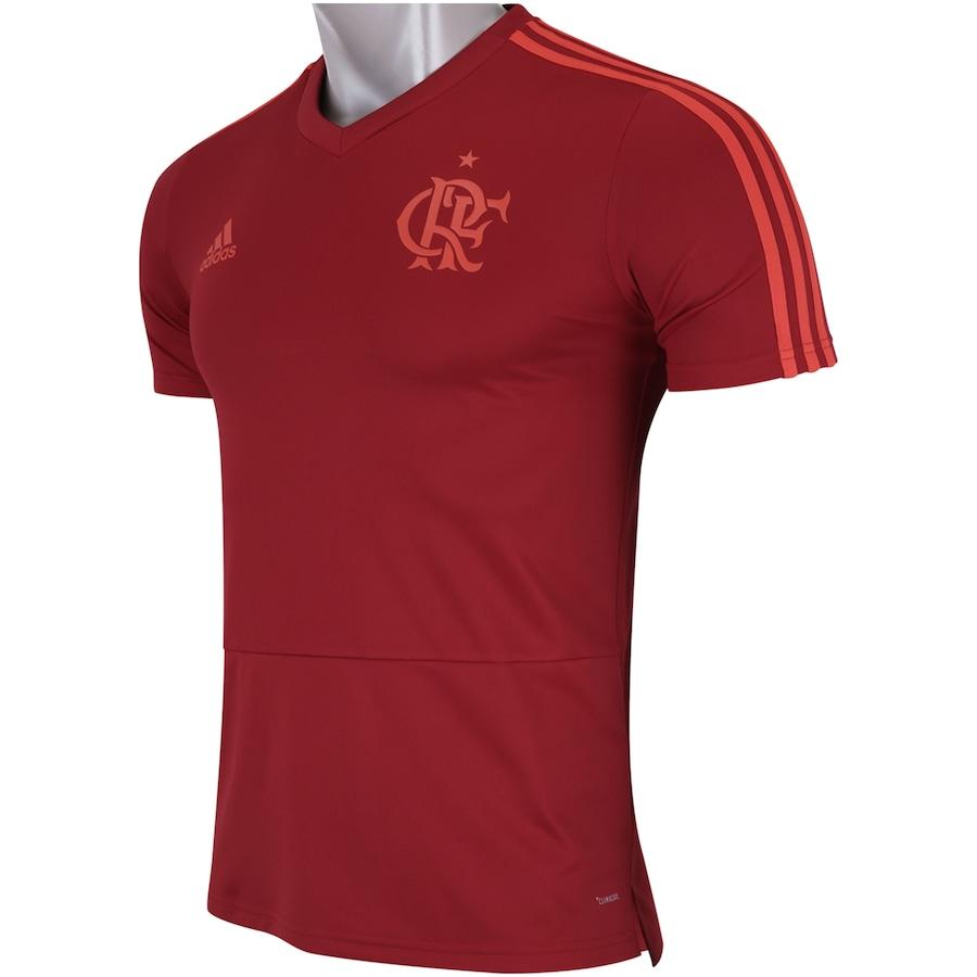 Camisa de Treino do Flamengo 2018 adidas - Masculina 08777ad7c4ac2