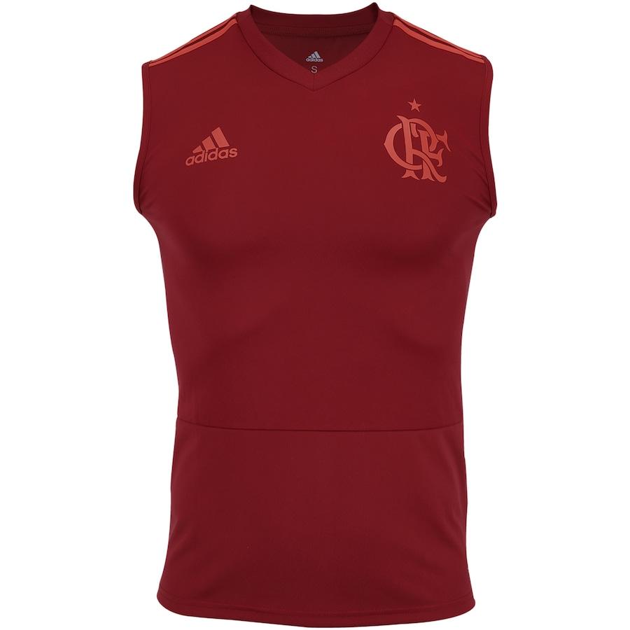 a992598d31 Camiseta Regata de Treino do Flamengo 2018 adidas - Masculina