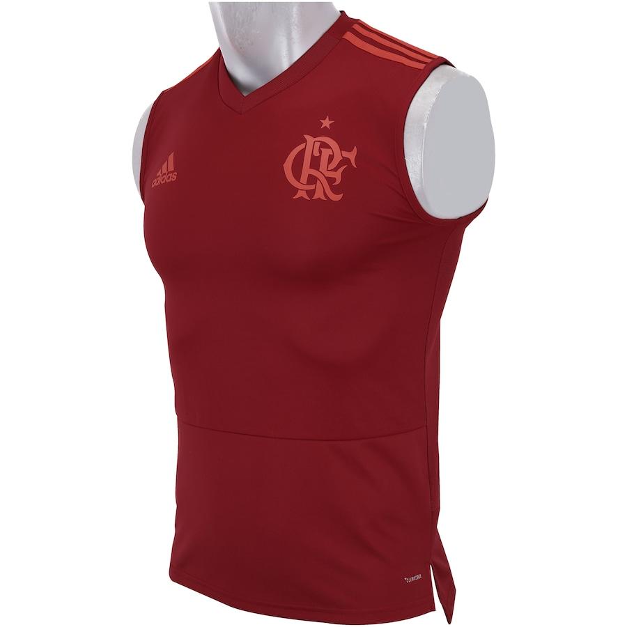 9794b8d68cb7d Camiseta Regata de Treino do Flamengo 2018 adidas - Masculina