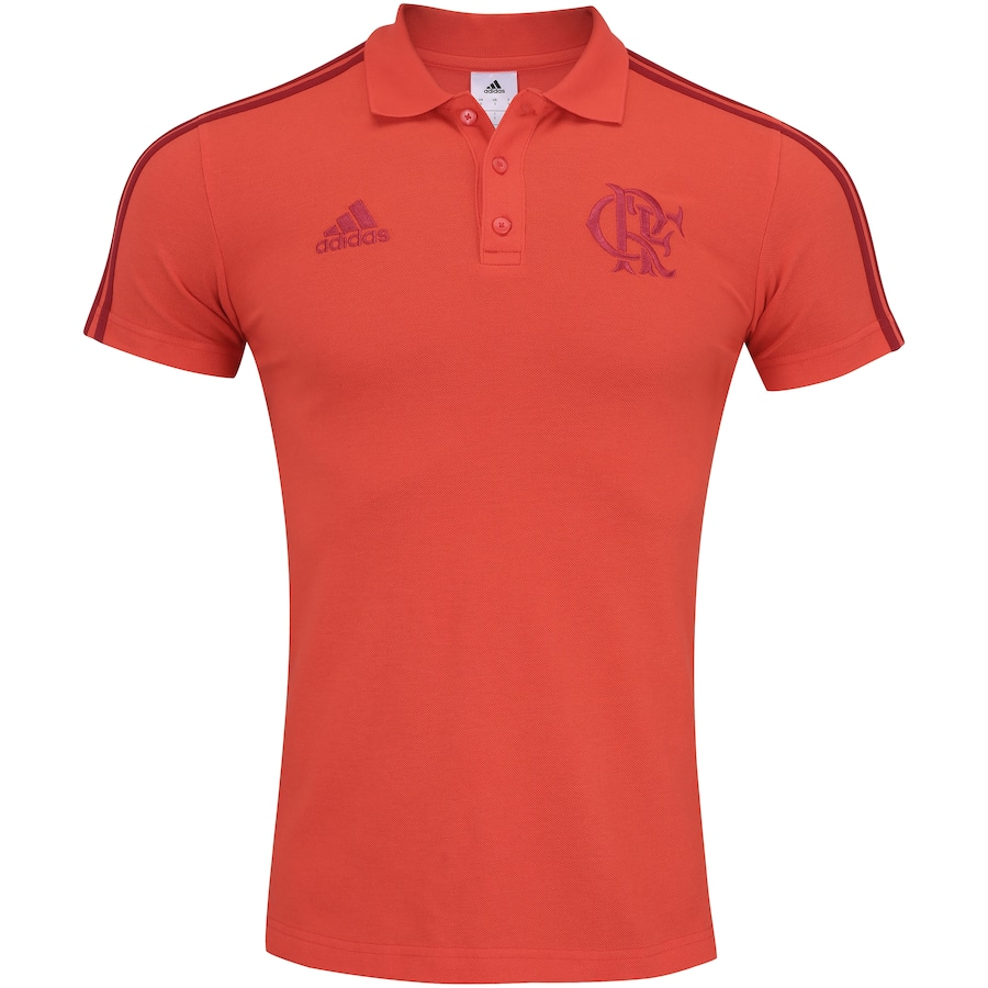 d6be3f9288 Camisa Polo do Flamengo 3S 2018 adidas - Masculina