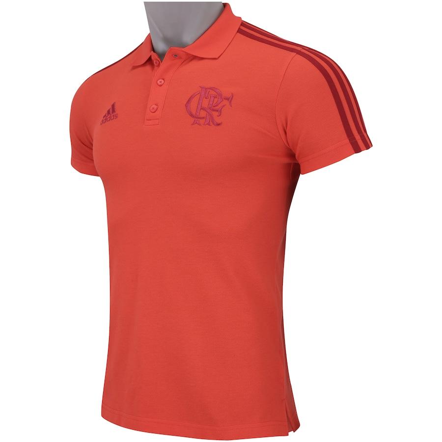 278169703e28a Camisa Polo do Flamengo 3S 2018 adidas - Masculina