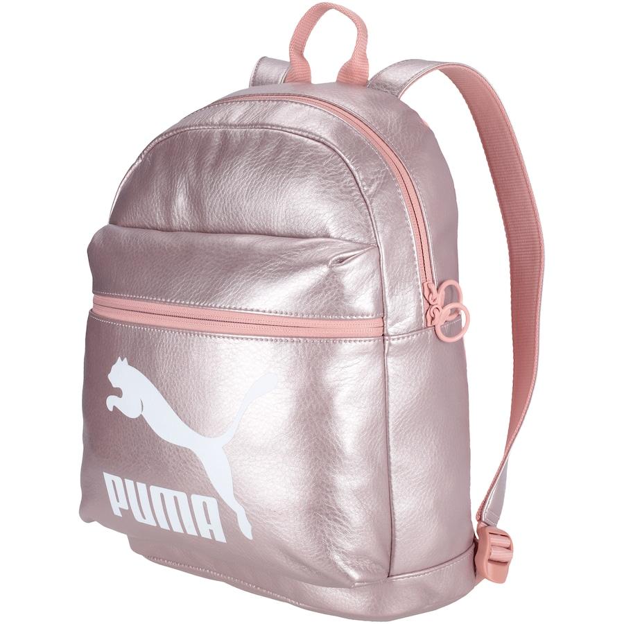 9804e3195 Mochila Puma Prime Backpack Metallic - 10 Litros - Feminina