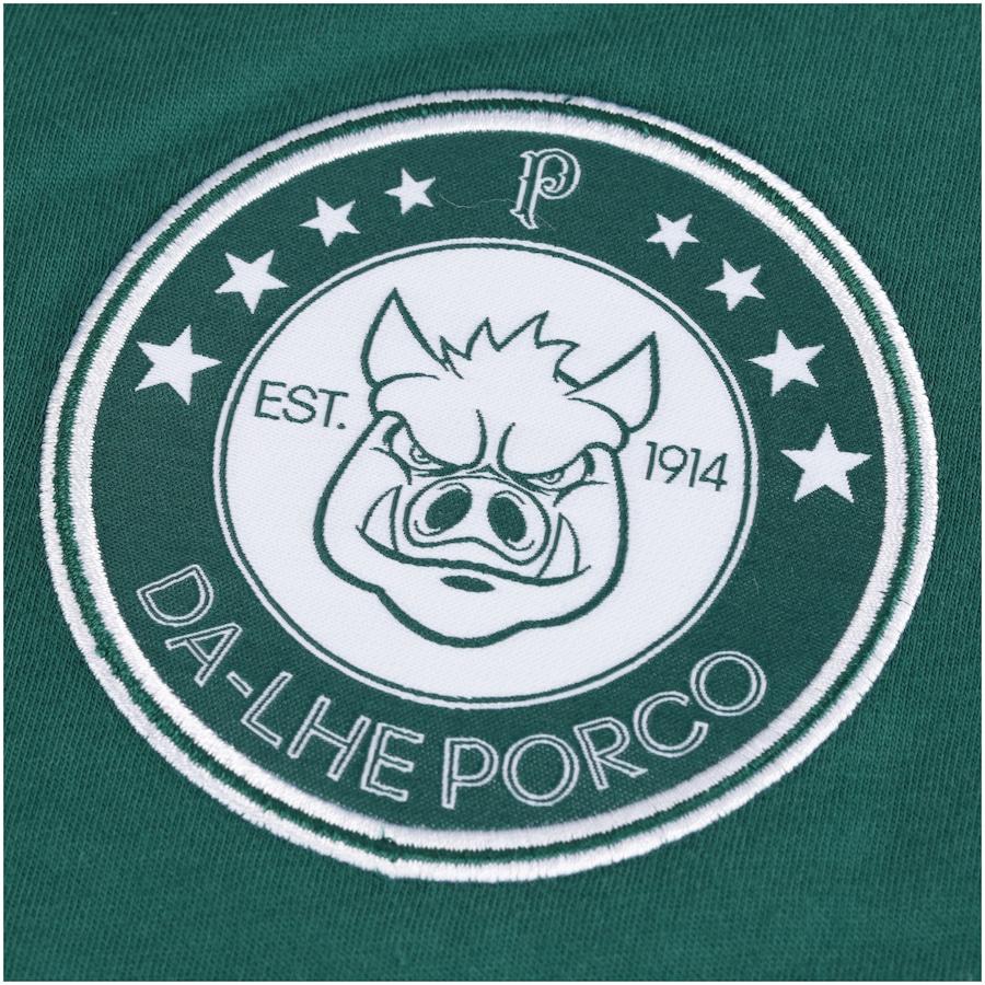 Camiseta do Palmeiras Dá-lhe Porco 2018 adidas - Feminina 85ed183822b60