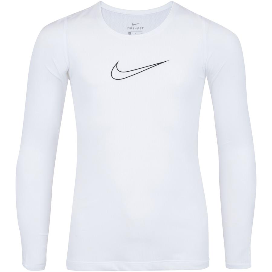 da9ceb4fc4 Camiseta Manga Longa Nike Pro LS Feminina - Infantil