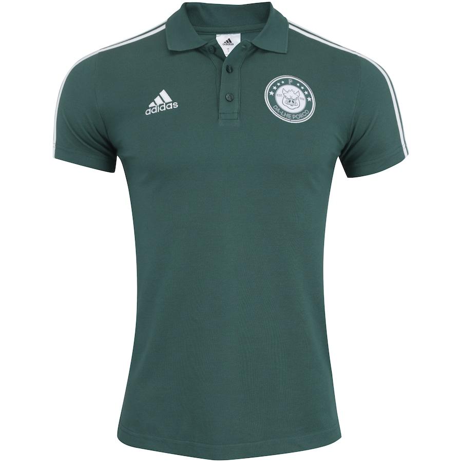 d4cbfb166a3f0 Camisa Polo do Palmeiras Dá-lhe Porco 2018 adidas - Masculina