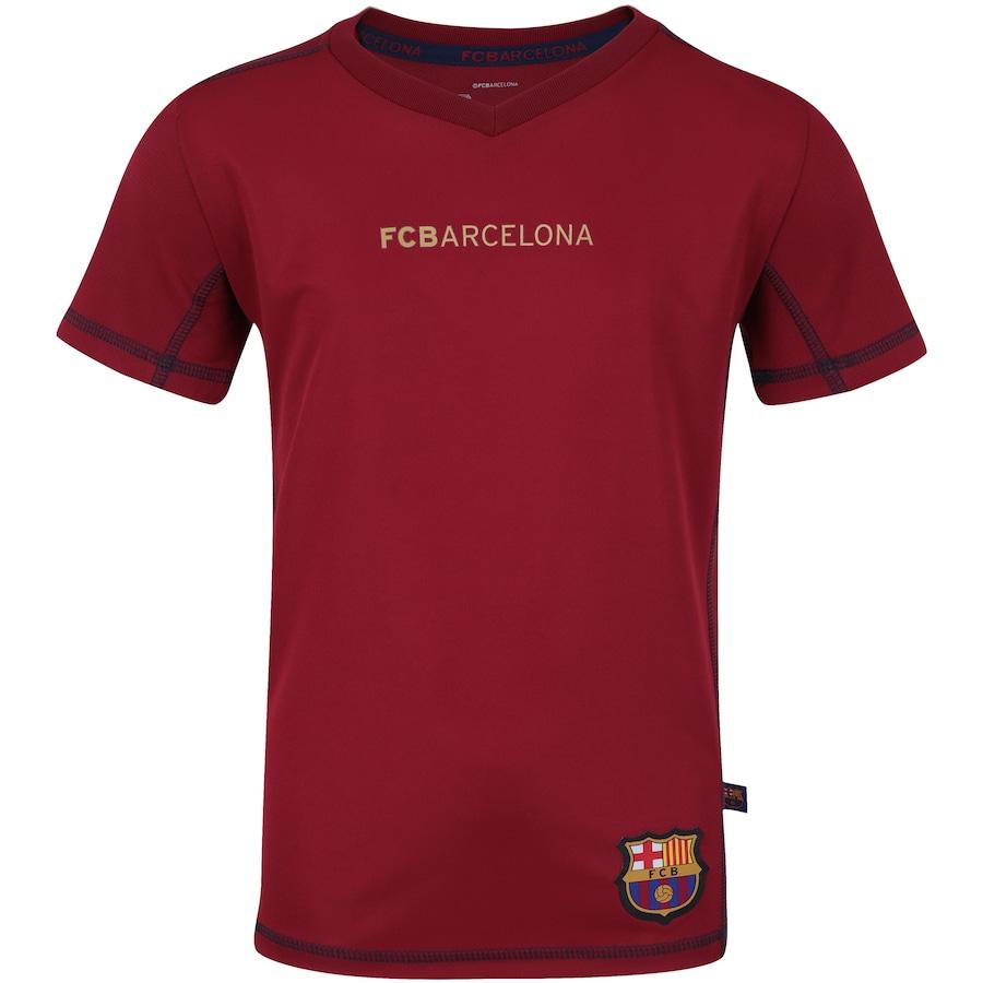 Camiseta Barcelona Gol - Infantil 3406f36541be4