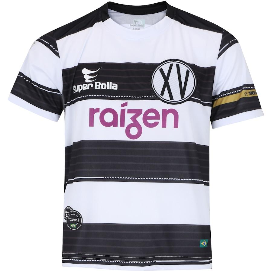 9f80f6844a74d Camisa do XV de Piracicaba I 2018 nº 15 Super Bolla - Infantil