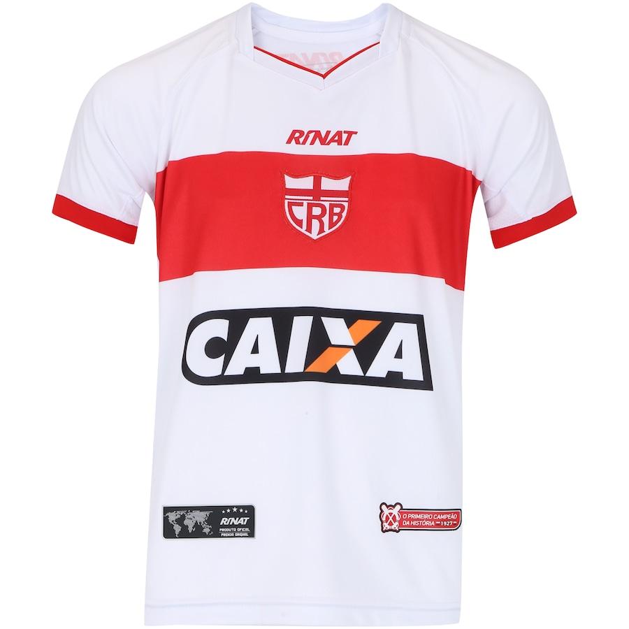 01be395815 Camisa do CRB I 2018 nº 10 Rinat - Infantil