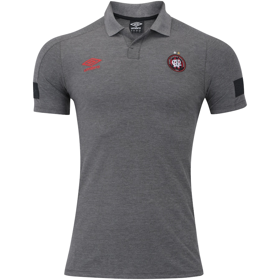 Camisa Polo do Atlético-PR Viagem 2018 Umbro - Masculina 99e07a63f50f7
