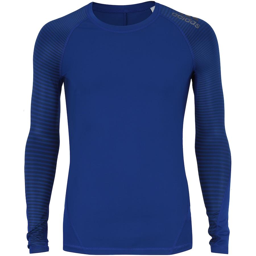 Camisa de Compressão Manga Longa adidas Alphaskin Sport - Masculina d94f20d9dfe55