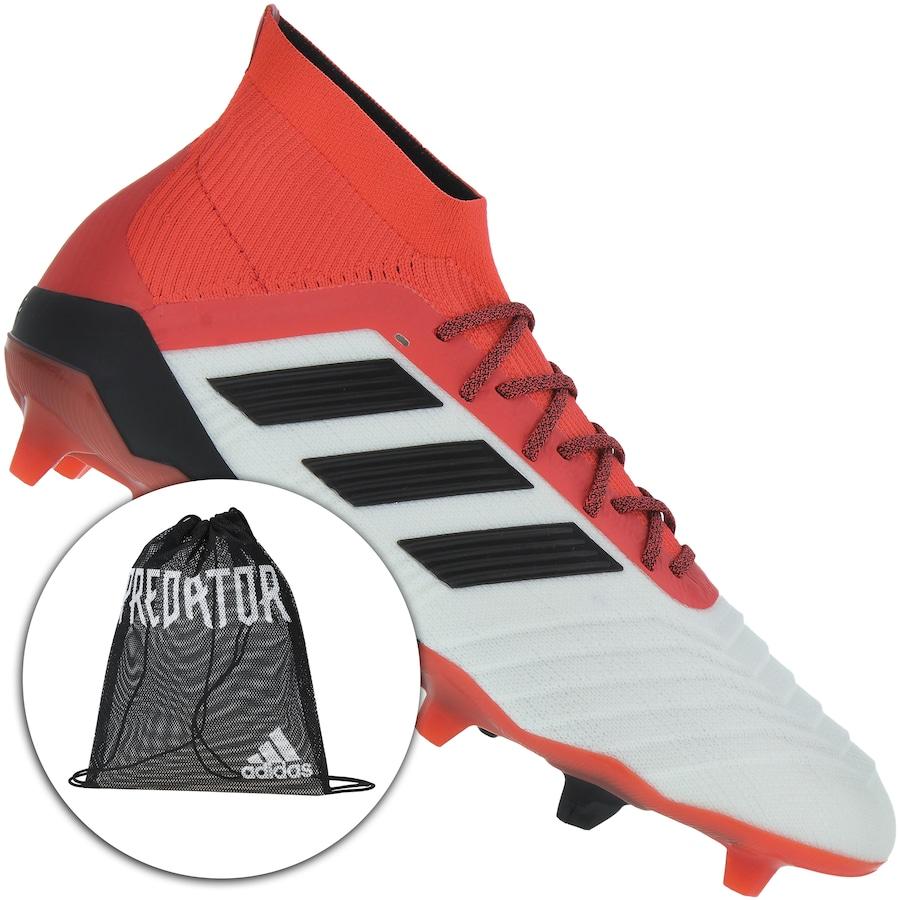 0cae91539 Chuteira de Campo adidas Predator 18.1 FG - Adulto - Flamengo Loja